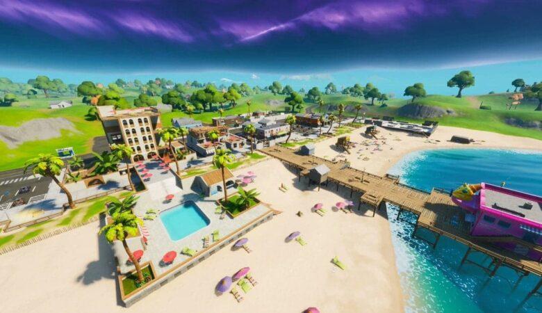 Where to find umbrellas on the clear coastline in Fortnite | 56c9c9d4 ektuophu4ae82ts | married games news | epic games store, fortnite | umbrellas on the clear coast